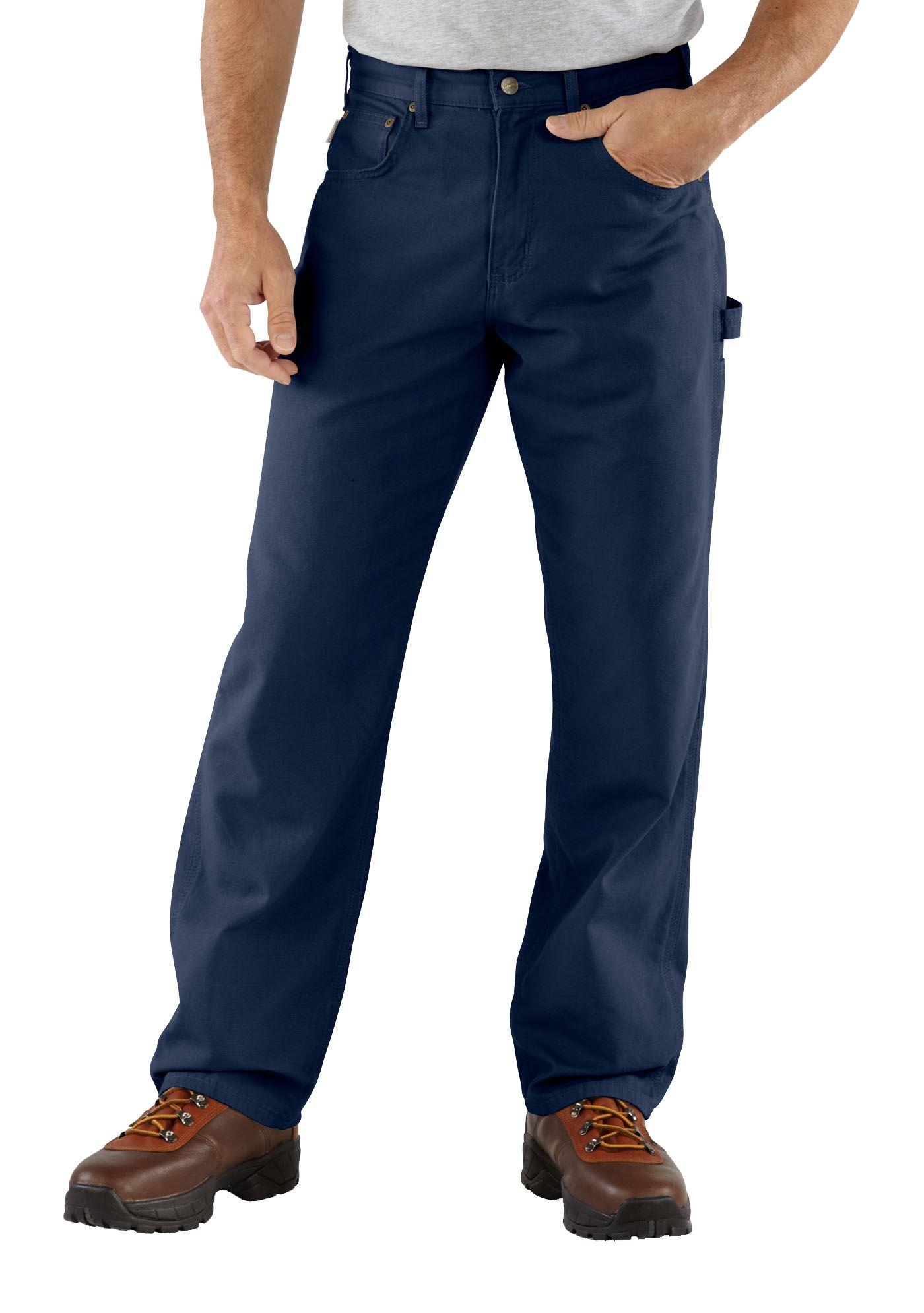 Carhartt Men's Canvas Carpenter Jeans