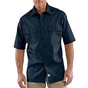 Carhartt Men's Twill Short Sleeve Work Shirt