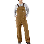e38dadbd2747 Product Image · Carhartt Men s Unlined Zip-To-Thigh Duck Bibs. Carhartt  Brown · Black