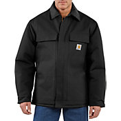 Carhartt Men's Traditional Arctic Quilt-Lined Duck Coat - Big & Tall
