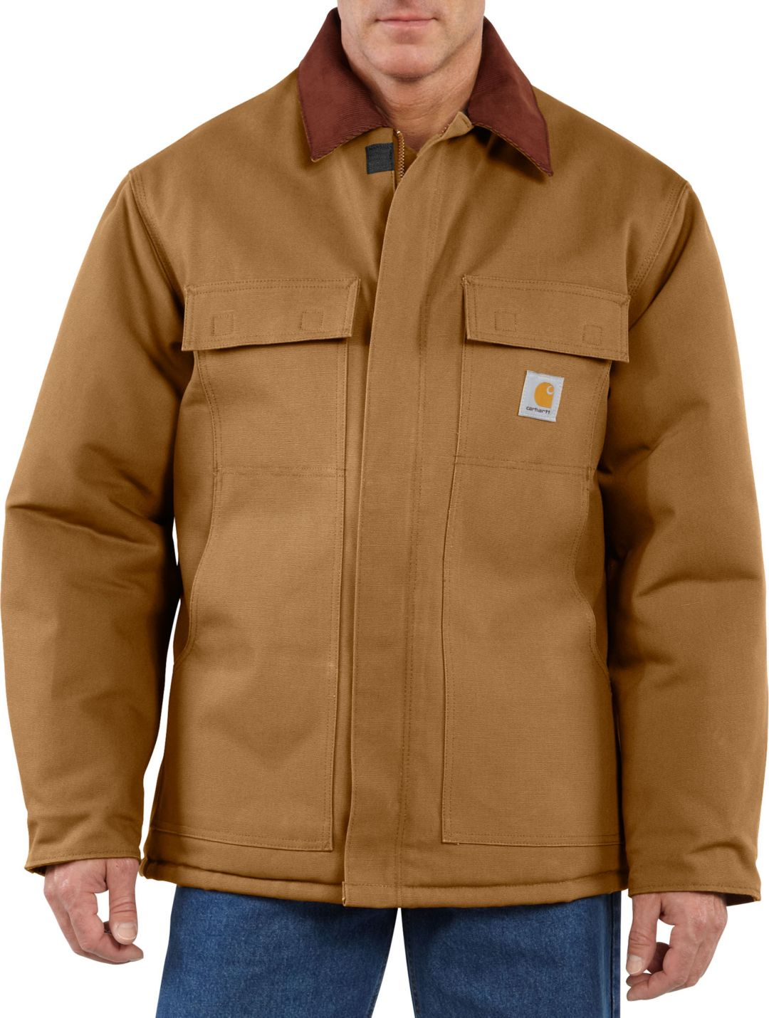 81abe47ac Carhartt Men's Traditional Arctic Quilt-Lined Duck Coat