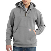 Carhartt Men's Paxton Heavyweight Mock Zip Hoodie (Regular and Big & Tall)