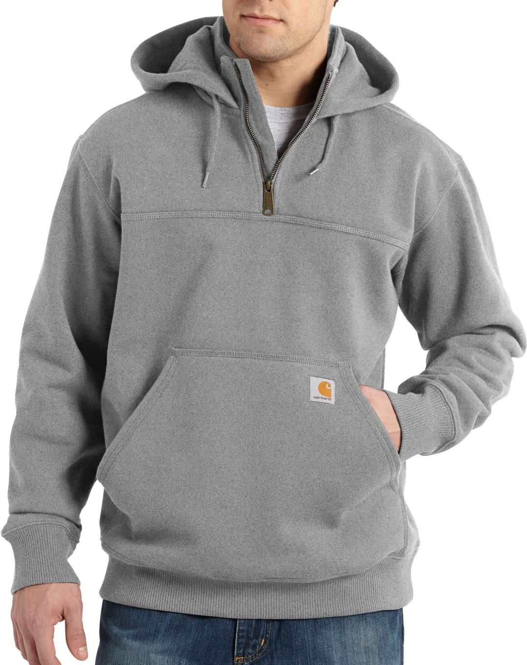preview of shop for authentic great discount for Carhartt Men's Paxton Heavyweight Mock Zip Hoodie