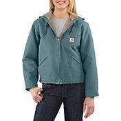 Carhartt Women's Sandstone Sierra Sherpa-Lined Jacket