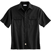Carhartt Men's Twill Short Sleeve Work Shirt - Big & Tall