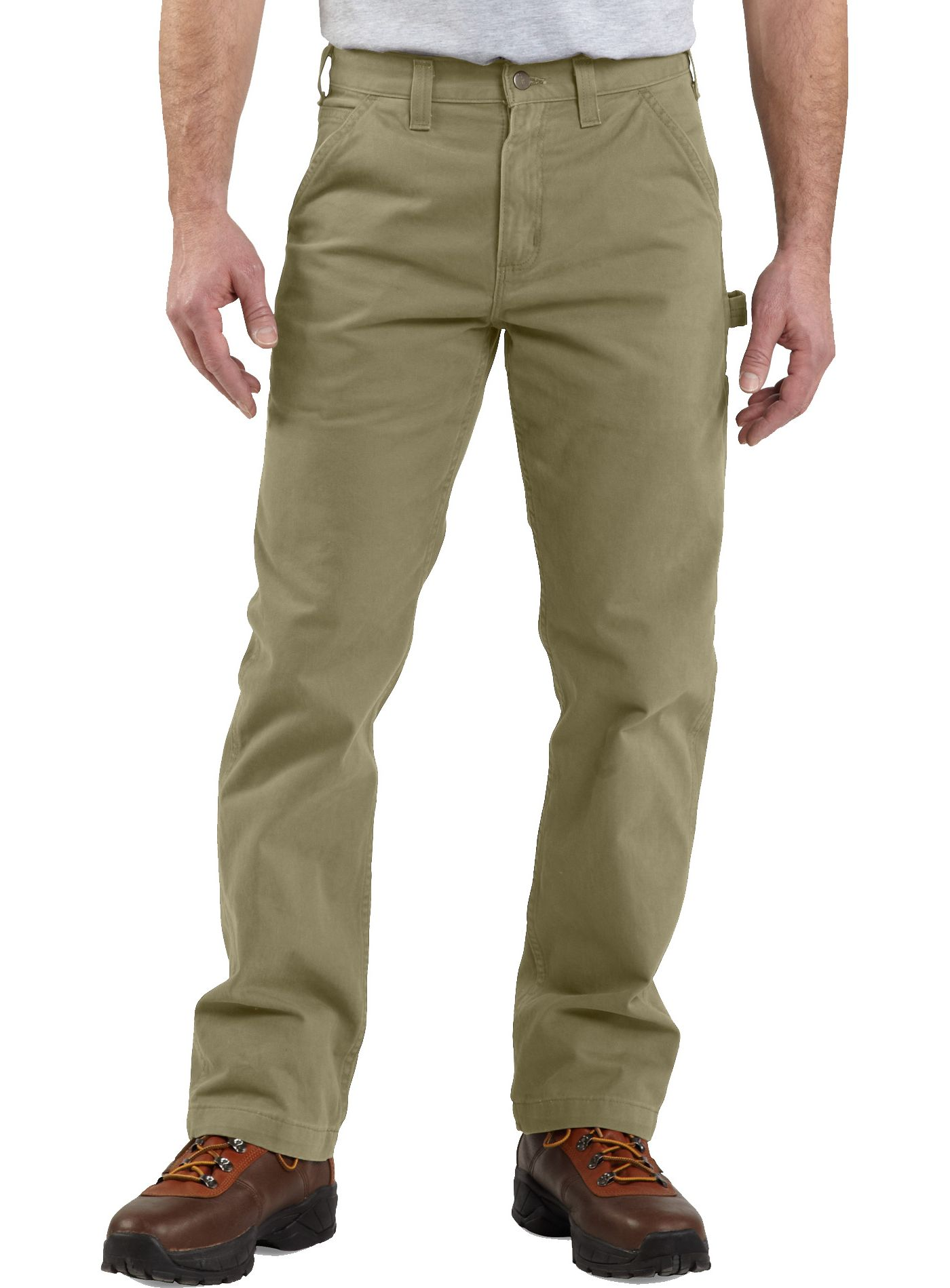 Carhartt Men's Washed Twill Dungarees (Regular and Big & Tall)
