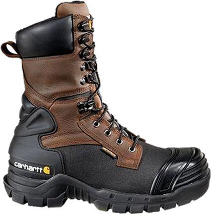 865a6e54a5f Carhartt Men's 10'' PAC Waterproof 400g Composite Toe Work Boots ...