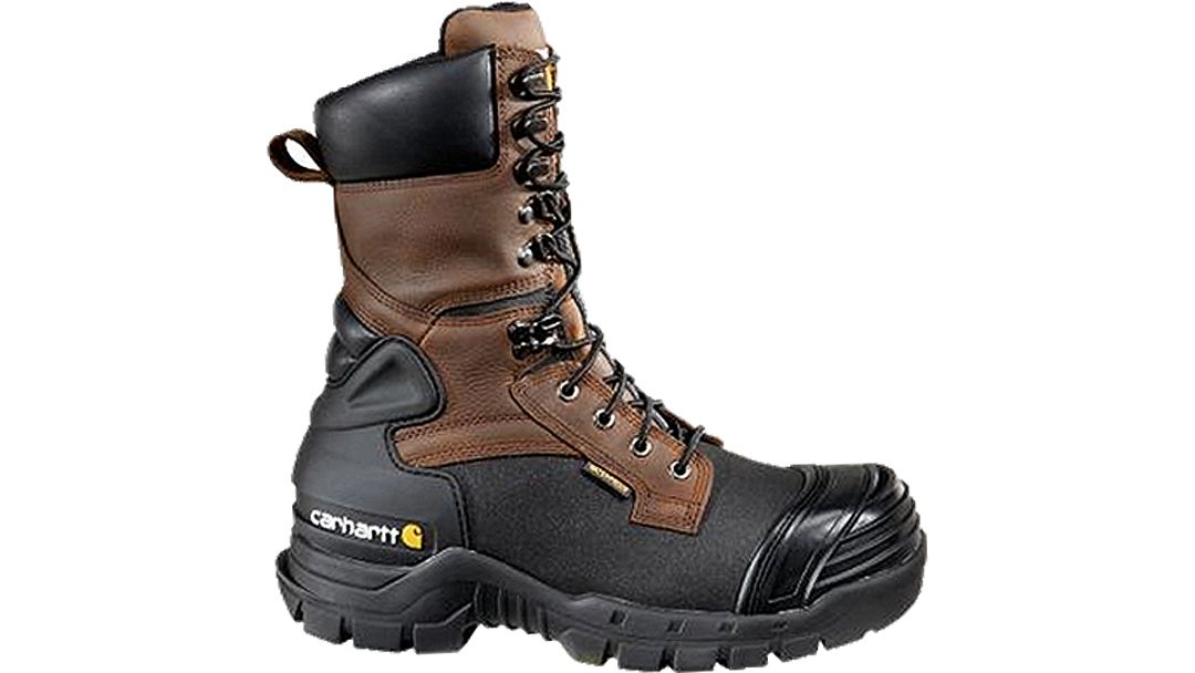 5a9e07aa7bc Carhartt Men's 10'' PAC Waterproof 400g Insulated Composite Toe Work Boots