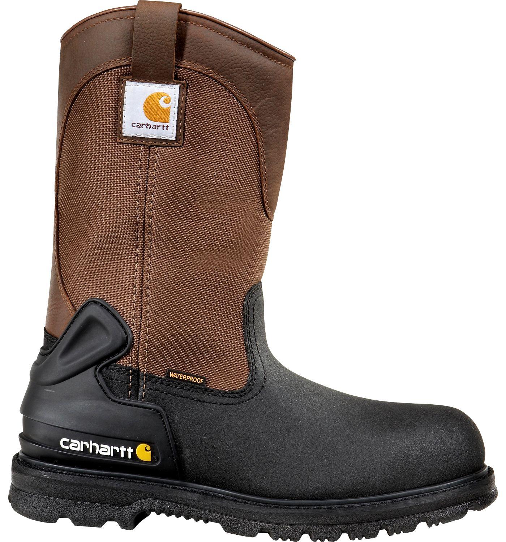 Carhartt Men's 11'' Mud Wellington Waterproof Steel Toe Work Boots