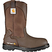 Carhartt Men's Bison 11'' Mud Wellington Safety Toe Waterproof Work Boots
