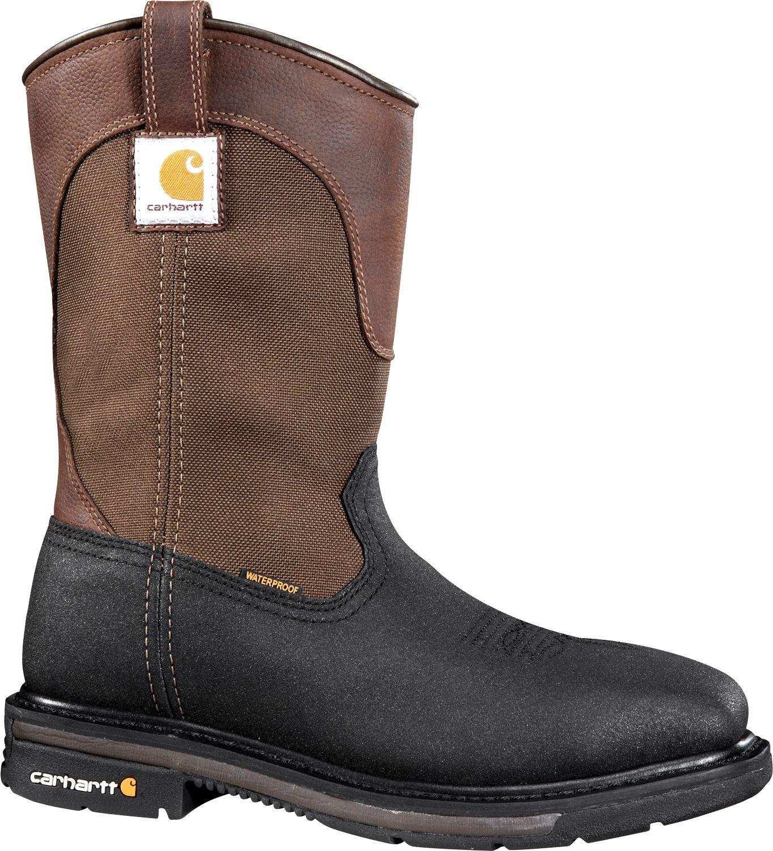2cc4c1c81e45 Carhartt Men s 11   Square Toe Wellington Waterproof Steel Toe Work ...
