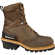 Carhartt Men's Logger 8'' Waterproof 400g Composite Toe Work Boots