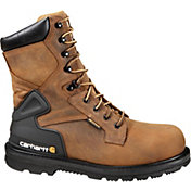 "Carhartt Men's Bison 8"" Safety Toe Waterproof Work Boots"
