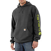 Carhartt Men's Midweight Sleeve Logo Hoodie (Regular and Big & Tall)