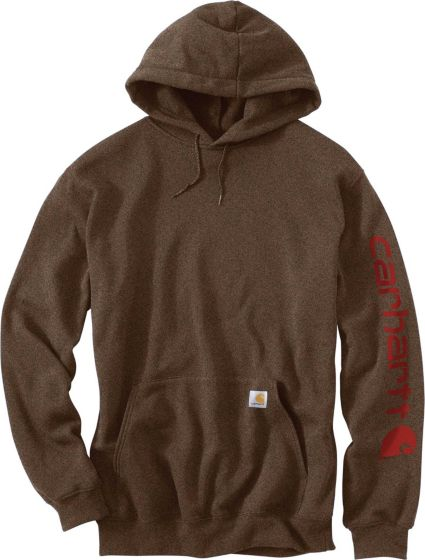 10b5bbc9e Carhartt Men's Midweight Hooded Logo Sleeve Sweatshirt | DICK'S ...