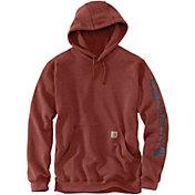 Carhartt Men's Midweight Sleeve Logo Hoodie (Regular and Big & Tall)