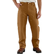 Carhartt Men's Firm Duck Double Knee Work Pants (Regular and Big & Tall)
