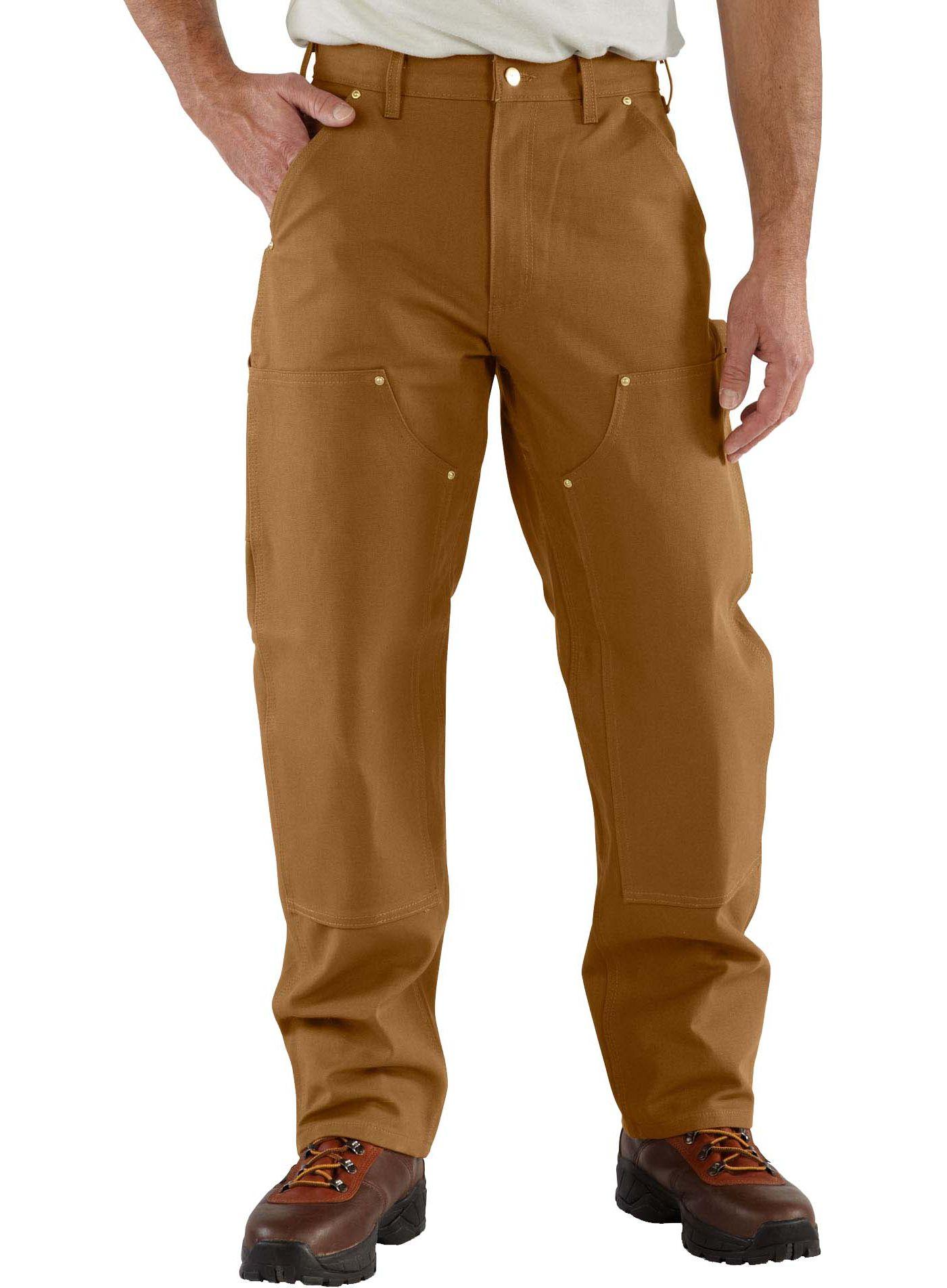 Carhartt Men's Firm Duck Double Knee Work Pants