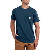 Carhartt Men's Force Cotton Delmont Short Sleeve T-Shirt (Regular and Big & Tall)