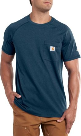 f4639262 Carhartt Men's Force Cotton Delmont Short Sleeve ...