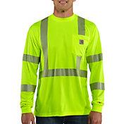 Carhartt Men's Force High-Visibility Class 3 Long Sleeve Shirt