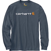 Carhartt Men's Signature Logo Long Sleeve Shirt