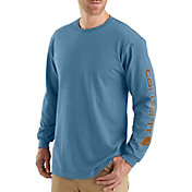 Carhartt Men's Graphic Logo Long Sleeve Shirt (Regular and Big & Tall)