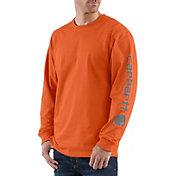 Carhartt Men's Graphic Logo Long Sleeve Shirt