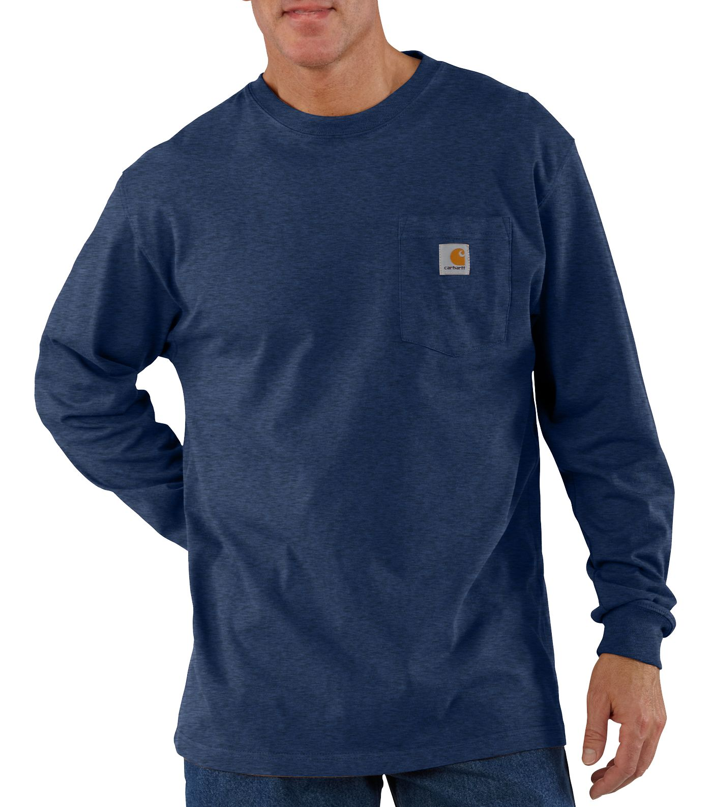 Carhartt Men's Workwear Long Sleeve Shirt (Regular and Big & Tall)