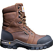 "Carhartt Men's Rugged Flex 8"" Composite Toe 400g Waterproof Work Boots"