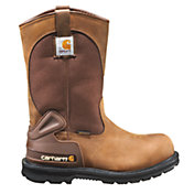 "Carhartt Men's 11"" Wellington Safety Toe Waterproof Work Boots"