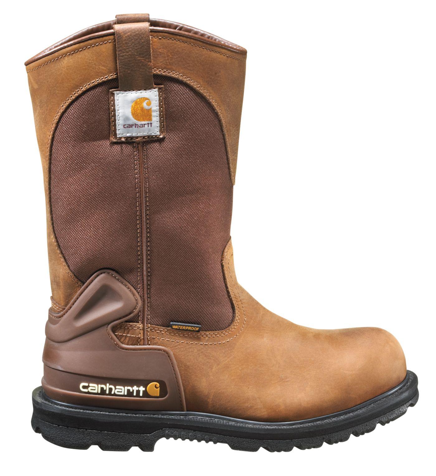 "Carhartt Men's 11"" Wellington Steel Toe Waterproof Work Boots"