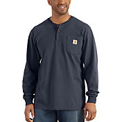 Carhartt Men's Workwear Henley Long Sleeve Shirt - Big & Tall