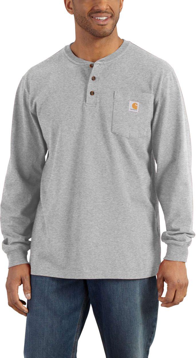 Carhartt Men's Workwear Henley Shirt (Regular and Big & Tall