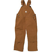 Carhartt Toddler Boys' Washed Canvas Bib Overalls
