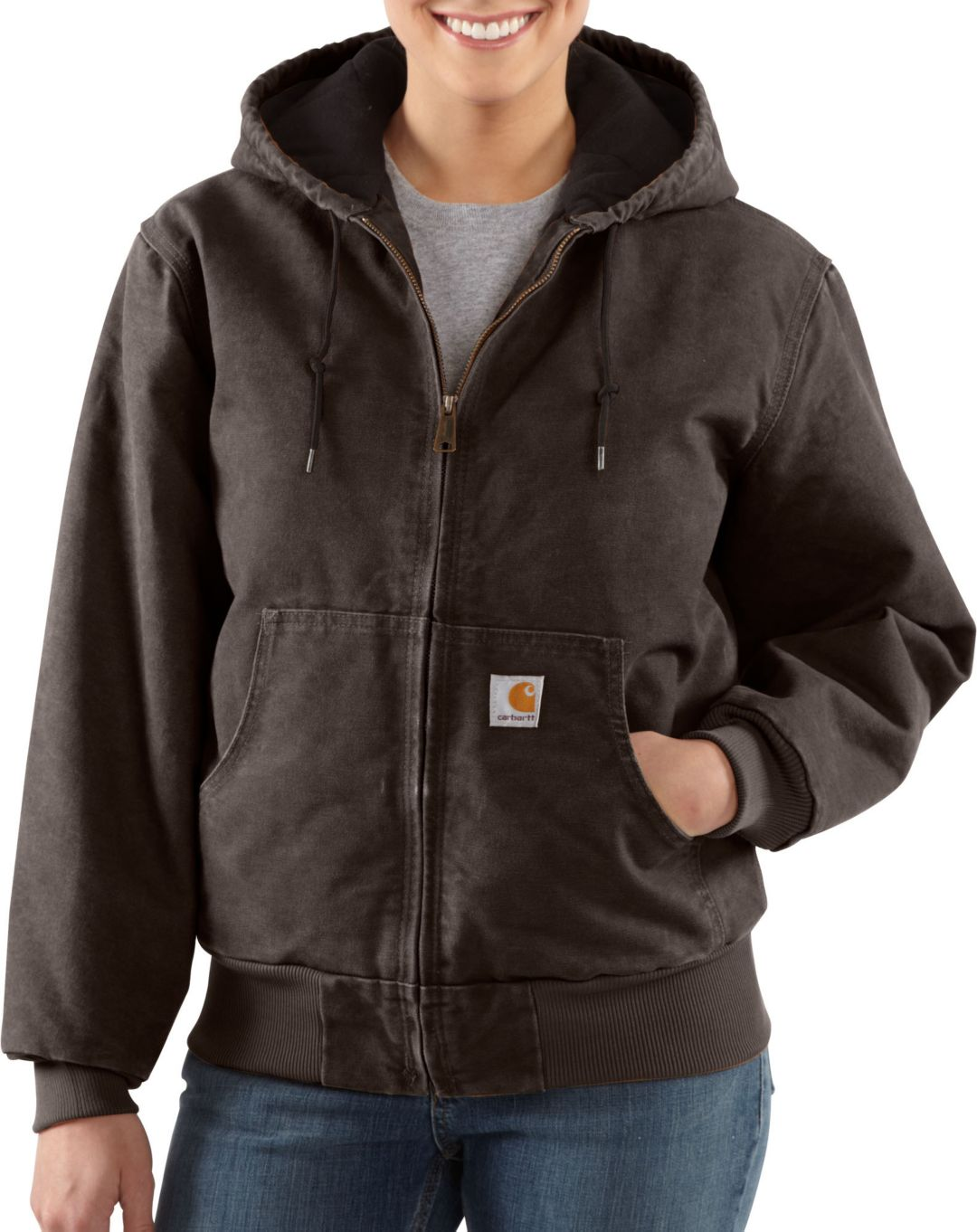 super cheap compares to aesthetic appearance promo code Carhartt Women's Sandstone Quilted Flannel Active Jacket