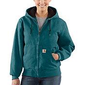 Carhartt Women's Sandstone Quilted Flannel Active Jacket