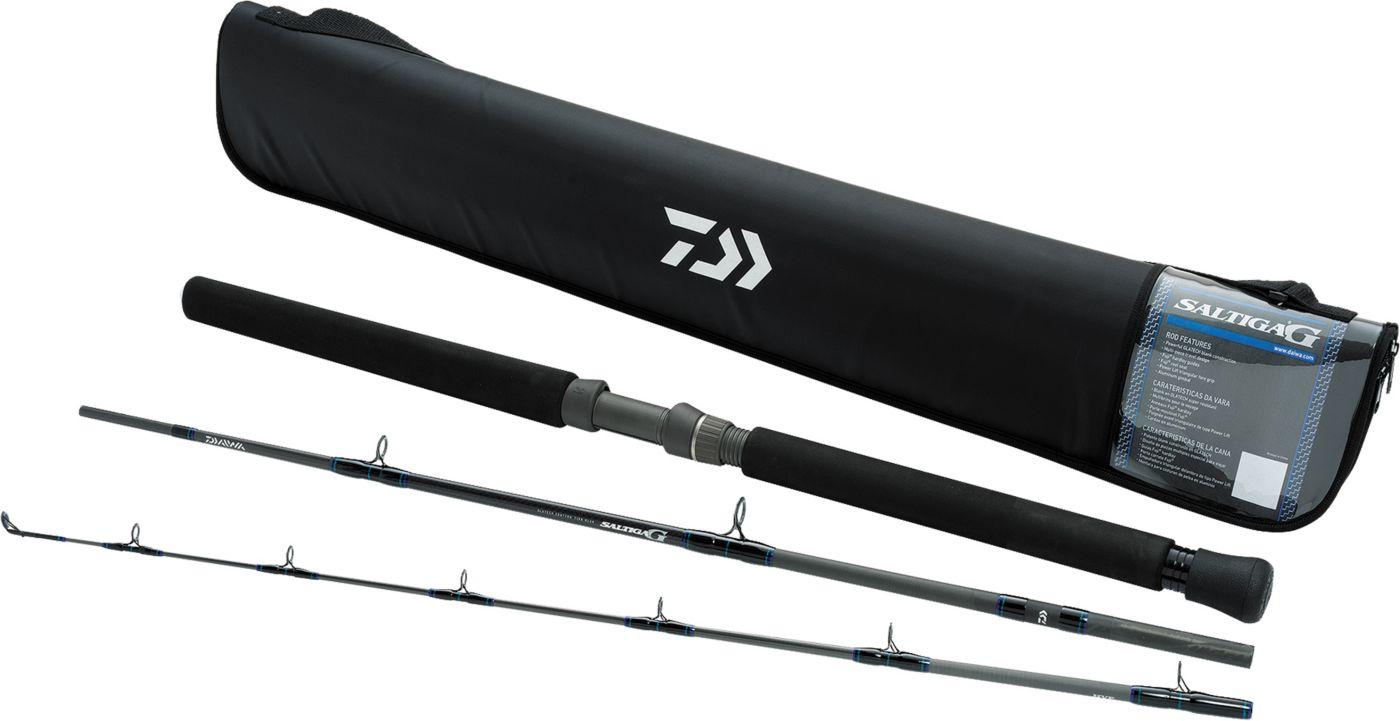 Daiwa Saltiga G Travel 3-Piece Spinning Rods