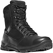 "Danner Men's Lookout 8"" Side Zip Waterproof Work Boots"