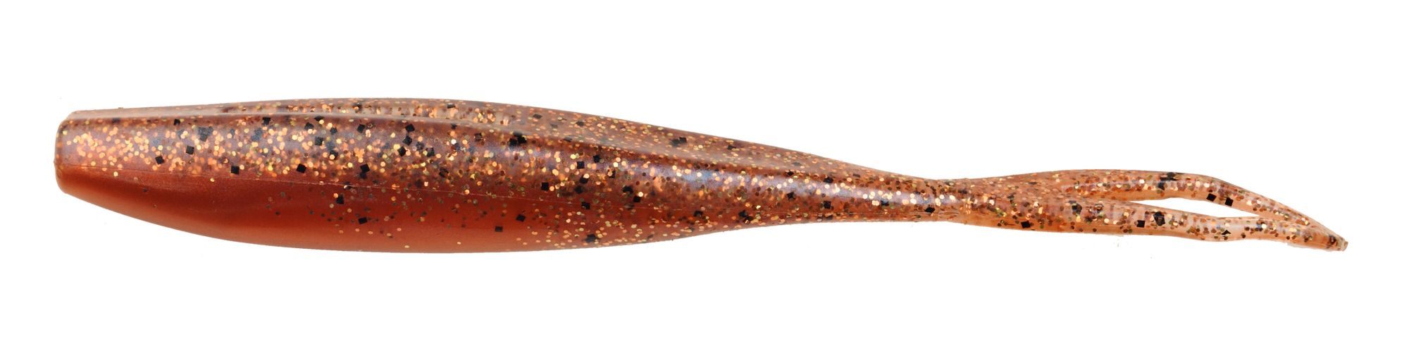 D.O.A. C.A.L. Jerk Soft Baits, 5 1/2 IN., Brown