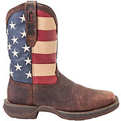 Durango Men's American Flag Pull-On Western Work Boots