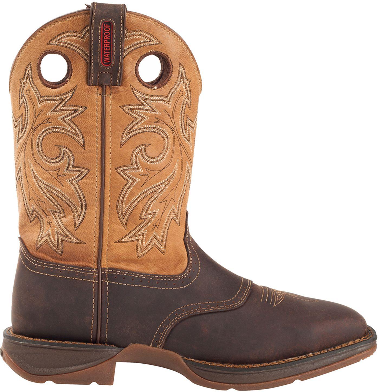 """Durango Men's Rebel 11"""" Waterproof Steel Toe Western Work Boots"""