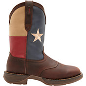 Durango Men's Rebel Texas Flag Western Boots