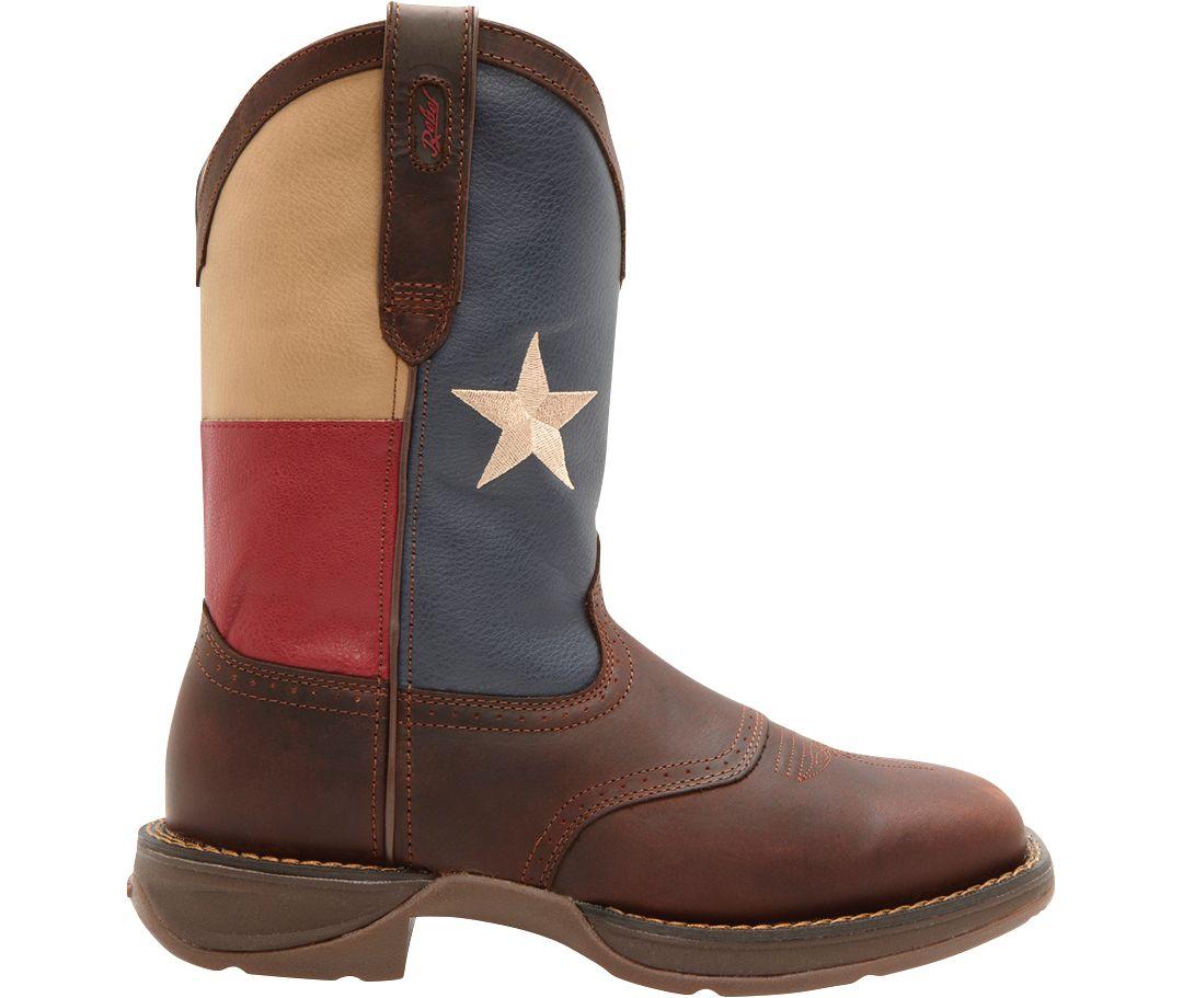 b10c5342c6d Durango Men's Patriotic Pull-On Western Work Boots