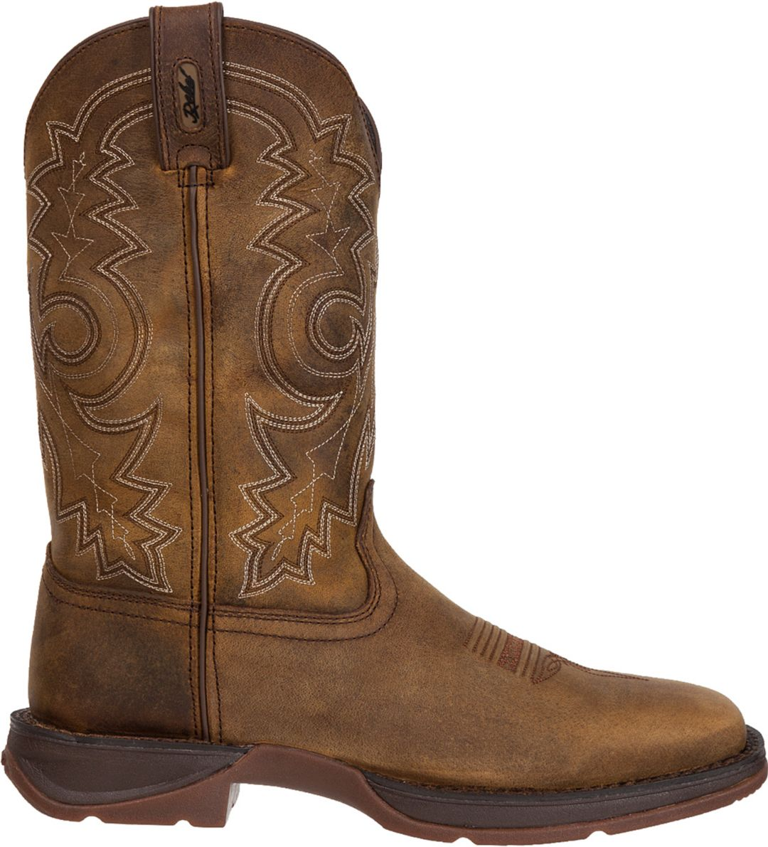 8bc04a3197d Durango Men's Rebel Pull-On Stitched Western Work Boots