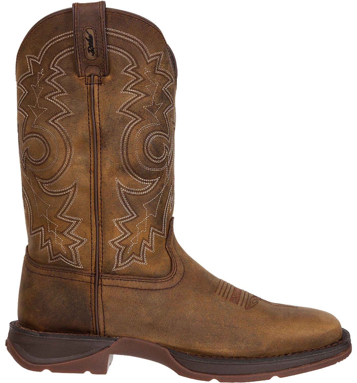 Durango Men's Rebel Pull-On Stitched Western Work Boots