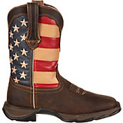 Durango Women's Lady Rebel Patriotic Pull-On Western Work Boots