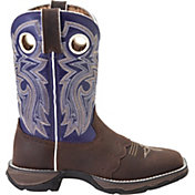 Durango Women's Lady Rebel Saddle-Lace Western Work Boots