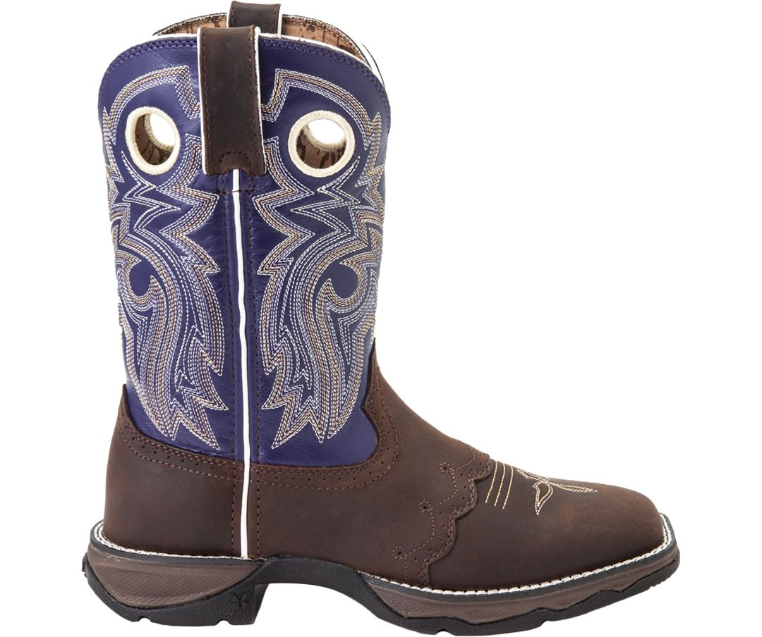 655e303c521 Durango Women's Lady Rebel Saddle-Lace Western Work Boots