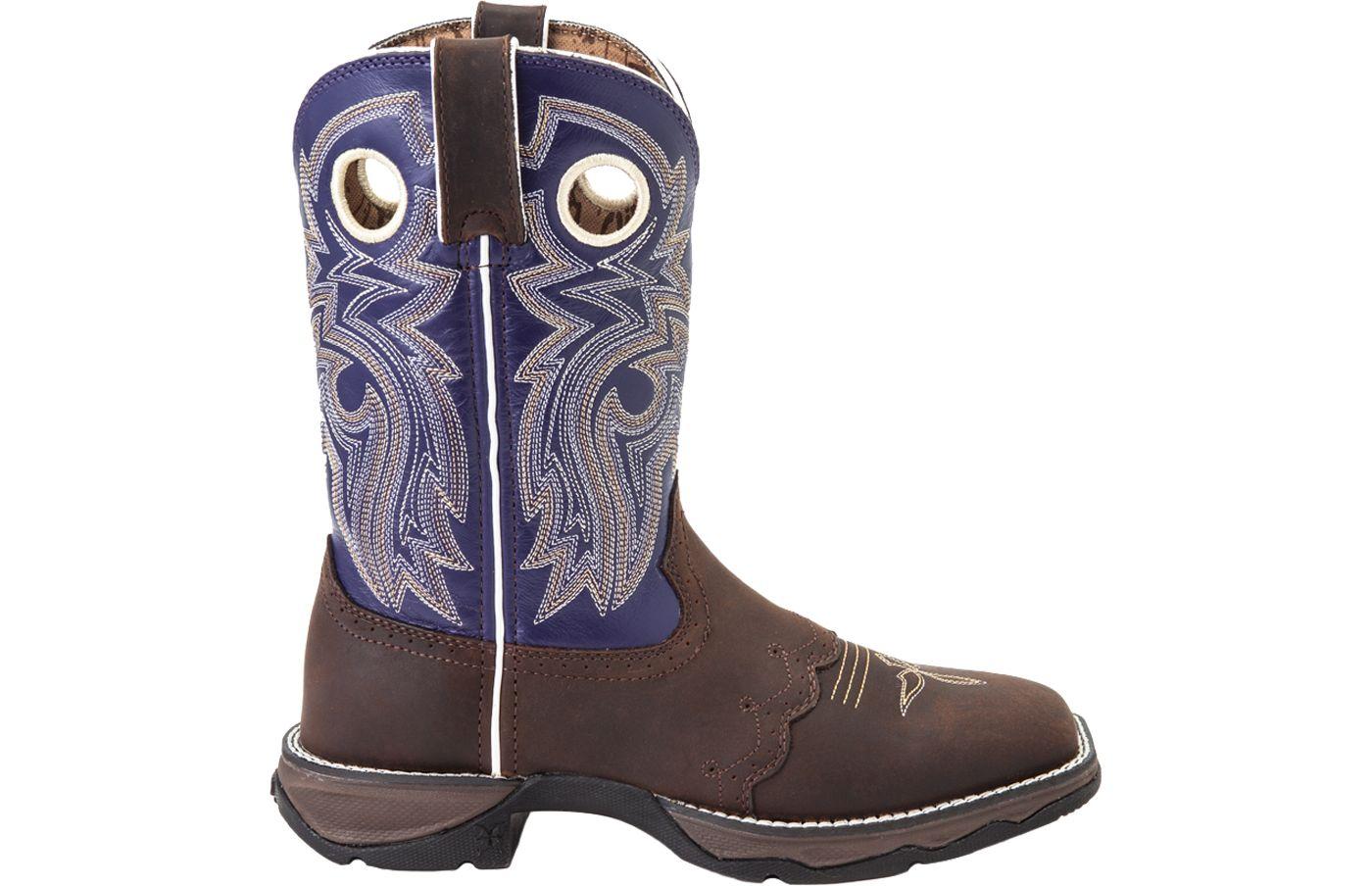 Durango Women's Lady Rebel Saddle-Lace Western Work Boots